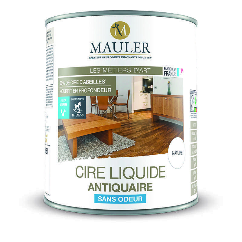 cire liquide antiquaire sans odeur espace d 39 eco bois. Black Bedroom Furniture Sets. Home Design Ideas